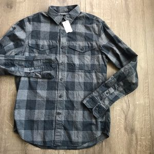 Banana Republic Slim Fit Flannel sz Small